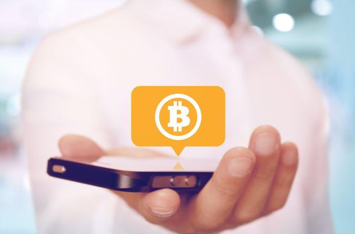 仮想通貨とスマートフォン
