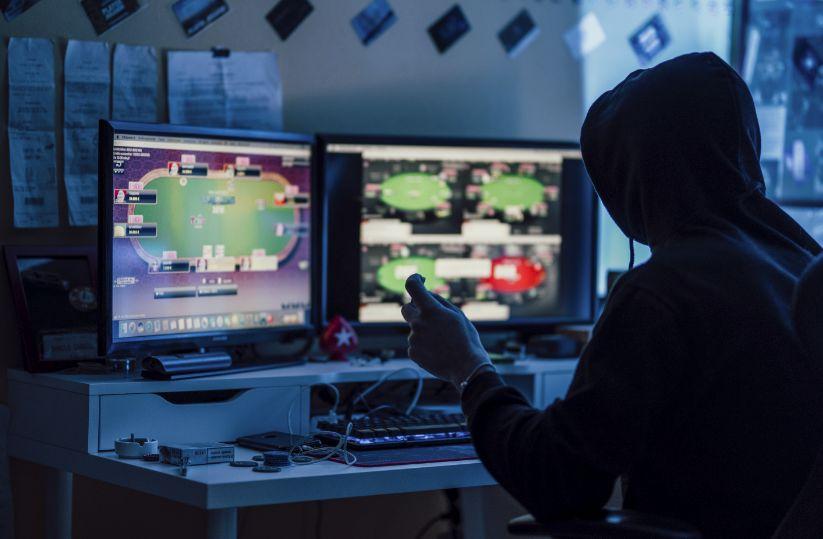 暗い部屋とオンラインカジノ