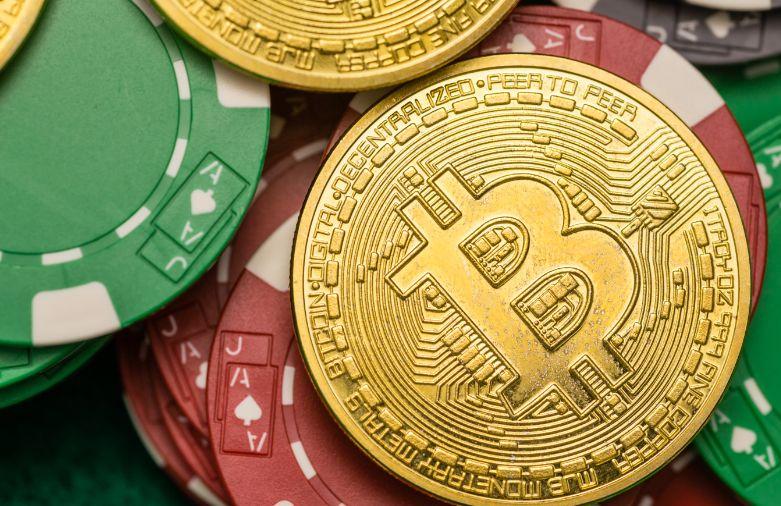 カジノチップとビットコイン