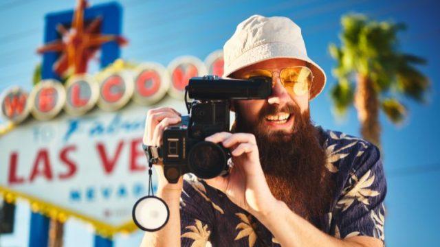 ラスベガスとカメラ撮影