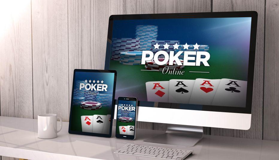 ポーカーの画面