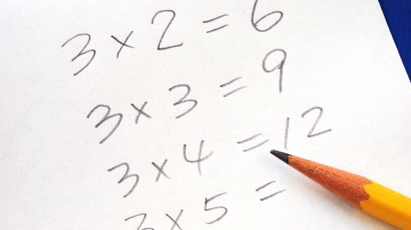 かけ算の式