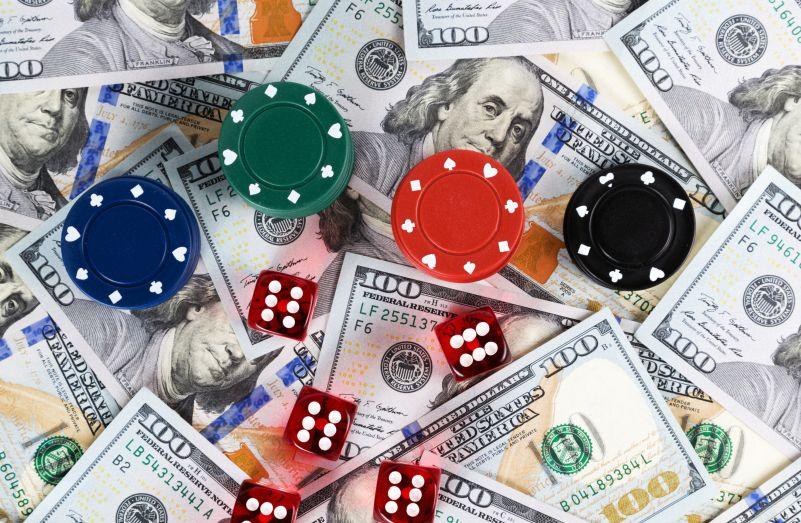 カジノチップと大金